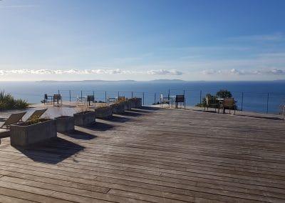 Création d'une salle de restaurant en pergolas bioclimatiques pour un Hôtel 4 étoiles dans le Var