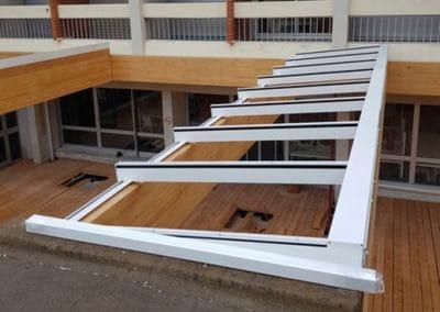 Toitures vitrées fixes à l'Institut La Cadenelle à Marseille