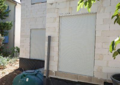 Volets roulants Soprofen en coffres tunnel pour une maison neuve à Marseille 13009