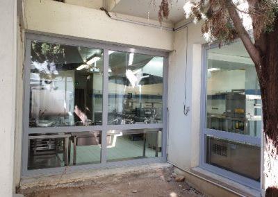 Menuiseries coupe-feu pour un restaurant à Marseille