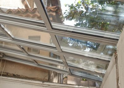 Toiture vitrée ouvrante motorisée à Marseille 13006